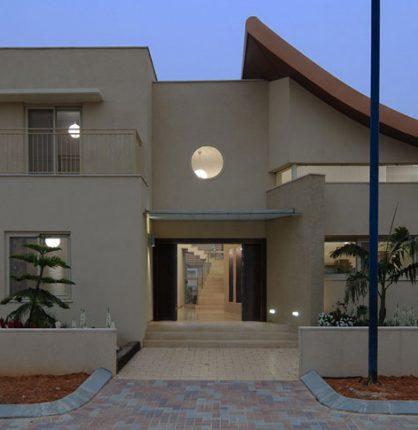 בית בסגנון אקלקטי מודרני
