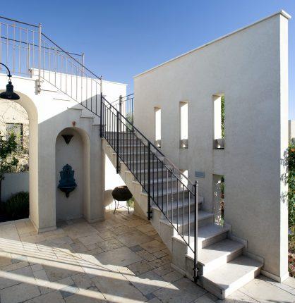 פרויקט אדריכלי לבית פטיו ים תיכוני SA
